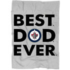 Best Dad Ever Winnipeg Jets America Sport Blanket, Funny Father's Day Gift $39.99 USD on eBay