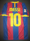 2010-2011 Nike Authentic FC Barcelona Jersey Shirt Kit Lionel Messi Argentina