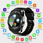 V8 Bluetooth Smart Watch Sports Pedometer Clock With SIM Card For Android US