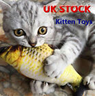 Artificial Fish Catnip Kitten Toys Sleeping Pillow Pet Cat Bite Chew Play Toy