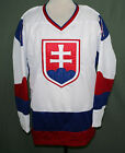 JAROSLAV HALAK TEAM SLOVAKIA HOCKEY JERSEY SEWN NEW ANY SIZE