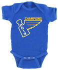 Baby St. Louis Blues Stanley Cup 2019 Champions Champs Creeper Romper $13.99 USD on eBay