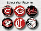 "Cincinnati Reds Buttons 1.25"" Baseball Hat T-Shirt Jersey Pins Badge Patch Logo on Ebay"