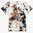 Anime Dragon Ball Z BLEACH WASH TIE DYE T-Shirt NEW Authentic & Official image