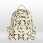 Water Resistant Floral Baby Diaper Bag Backpack Nappy Bag Changing Bag Travel