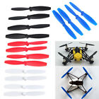 4PCS Propellers Props Blades Replacement for Repeat Mini Drone Airborne Night US