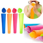 4/6Pcs Silicone Popsicle Mold ice Lolly Mold Ice Maker Snack Ice Cream DIY New