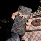 For iPhone 6S 7 8 X XS XR XS-MAX XI Fashion Luxury Brand Design Phone Cover Case