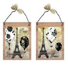 Paris Pictures Tan Beige Hot Air Balloons 1822 Bed & Bath Wall Hangings Plaques