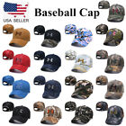 Unisex Camo Under Armour Cap Embroidered Baseball Adjustable Strapback Golf Hat