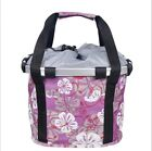 DIY Foldable Bicycle Oxford Fabric Basket Pet Carrier Detachable Travel Bag