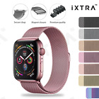 Apple Watch Series Se 6 5 4 3 2 1 Milanese Magnetic Stainless Steel Strap Band