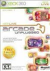 Xbox Live Arcade Unplugged Volume 1 Xbox 360 Complete CASE AND DISC ONLY CIB