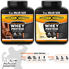 100% PREMIUM WHEY PROTEIN POWDER 5lb VALUE SIZE Enhanced with CREATINE $45.95 USD on eBay