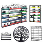 Kyпить Nail Polish Display Rack Wall Mount Holder Tattoo Cosmetic Organizer Shelf Lot на еВаy.соm