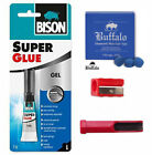 Snooker Cue Tip Repair Kit - 3 x Buffalo Diamond Plus Cue Tips SALE!! £9.95 GBP on eBay