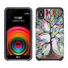 LG X Style | LG Tribute HD Case | Volt 3 Cover | Hybrid Dual Layer Slim Case