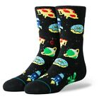 Stance NEW Astronaut Food Kids Socks - Black BNWT