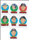 2016 Topps Heritage Minors 1967 Stickers SP - PICK FROM LIST COMPLETE YOUR SET