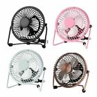 Mini USB 4 Inch Fan Desktop Silent Fan Portable Laptop Notebook PC Desk Table