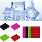 20-Cavity Large Cube Ice Pudding Jelly Maker Mold Mould Tray Silicone Tool W günstig