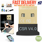 Mini USB Bluetooth 4.0 CSR4.0 Adapter Dongle for PC LAPTOP Windows Receiver