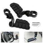 """1-1/4"""" Highway Foot Pegs Pedals Mount Clamps For Harley Touring Motorcycle Black $71.19 USD on eBay"""