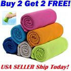Instant Ice Cooling Towel for Sports Workout Fitness Gym Yoga Hiking Pilates image