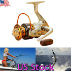 US Interchangeable 12BB Ball Bearing Saltwater/ Freshwater Fishing Spinning Reel $6.99 USD on eBay