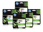 HP 950XL / 951XL High Yield Black and High Yield Colors Sealed New - NOT Expired - Hp Ink Cartridge 950 951