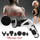 Fascia Massage Gun Percussion Body Muscle Deep Relaxation Massager Brushless