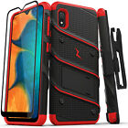 Samsung Galaxy A10e Case | ZIZO® BOLT Series Tempered Glass + Holster