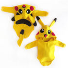 Toddler Baby Girl Boy Pokemon Pikachu Rompers Jumpsuit Outfits Cosplay Costume