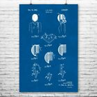 Fencing Mask Poster Print Fencing Wall Art Fencing Decor Fencer Gifts