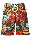 NWT Gymboree Tropical Hibiscus Swim Trunks Palm Tree Surf Board Shorts Boy 6 7 8