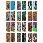 MAD DOG ART GALLERY DOGS 2 LEATHER BOOK WALLET CASE FOR APPLE iPHONE PHONES