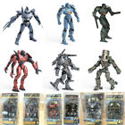 "7"" inch Scale Pacific Rim Jaeger Action Figure Toy Gift Set New Box Package"