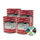 Ridata DVD-R DVDR 16X 4.7GB 120Min Silver Shiny Top Blank Media Recordable Disc
