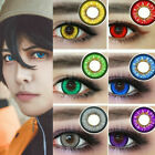 Внешний вид - 1 Pair of Halloween Series Colors Cosmetic Contact Lenses Eyes Cosplay