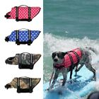 Large Medium Pet Dog Life Preserver Jacket Safety Flotation Vest Surfing Clothes
