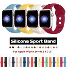Kyпить 38/42mm 40/44mm Silicone Sports Apple Watch Band Strap for iWatch Series 5 4 3 2 на еВаy.соm