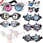 Vintage Steampunk Punk Goggles Monster Claw Goggles Rave Prism Party Glasses CA