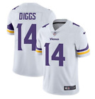 Stefon Diggs #14 Minnesota Vikings Men's White Away Game Jersey on eBay