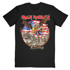 Iron Maiden Legacy of the Beast 2019 Tour USA Hanes Cotton T-shirt