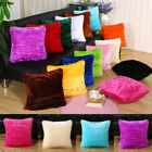 Luxury Fluffy Cushion Covers Furry Scatter Decorative Soft Pillow Cases Plush Au