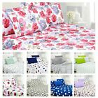 Premium 6-Piece Printed Sheet Set - Wrinkle Free
