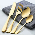 4x Stainless Steel Knifa Fork Spoon Luxury Colorful Cutlery Dinnerware Tableware