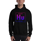 Hustle Hooded Sweatshirt Warm Soft Trendy USA