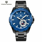 PAGANI DESIGN Men's Automatic Mechanical Watch Stainless Steel Bracelet Strap