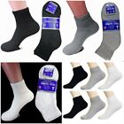 3 6 12 PAIR NEUROPATHY CIRCULATORY DIABETIC ANKLE SOCKS SIZE 9-11 10-13 13-15 $6.47 USD on eBay